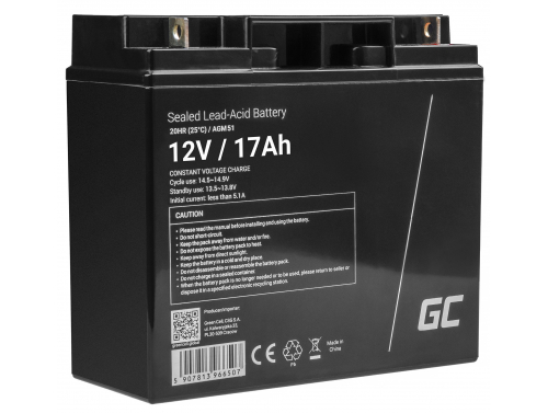 Batería Green Cell AGM 12V 18Ah