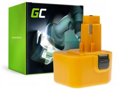 Green Cell® Batería (2Ah 12V) A9252 DE9037 DE9071 DE9074 para DeWalt / Black&Decker BSA12K CD1200 DW907 CD12C DC740KA DC742K