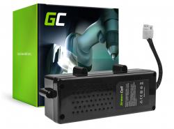 Batería Green Cell (5Ah 32.4V) F016104299 para Bosch Indego 800 850 1000 1100 1200 Connect