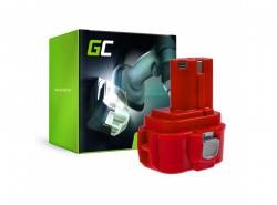 Batería Green Cell (2Ah 9.6V) PA09 192019-4 9120 9122 9133 9134 9135 para Makita 6222D 6226D 6260D 6226DW 6226DWBE 6261D 6222DE