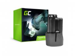 Batería Green Cell (1.5Ah 10.8V) GBA 12V 2607336333 D-70745 2607336013 BAT414 para Bosch GAS GLI GSR 10.8V-LI 10.8V-LI