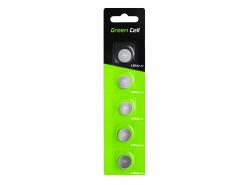 Green Cell Blister 5x Batería verde LR44 1.5V Botón de litio