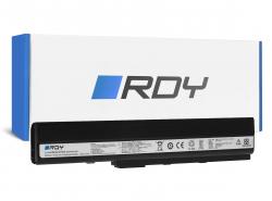 RDY Batería A32-K52 para Asus A52 A52F A52N K42 K52 K52D K52F K52J K52JB K52JC K52JE K52JR K52N X52 X52F X52J X52N