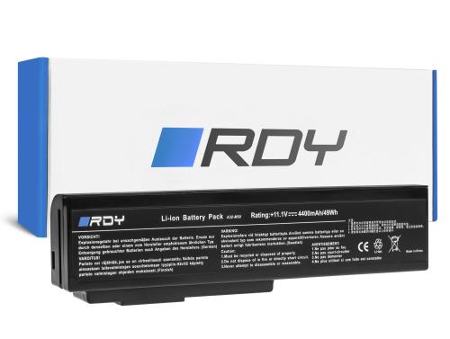 RDY Batería A32-M50 A32-N61 para Asus G50 G51J G60 G60JX M50 M50V N53 N53J N53S N53SV N61 N61J N61JV N61V N61VG N61VN