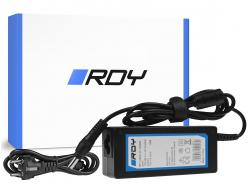 Fuente de alimentación / cargador RDY 19V 3.42A 65W para Toshiba Satellite C55 C660 C850 C855 C870 L650 L650D L655 L7