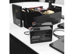 AGM Batería Gel de plomo 4V 4Ah Recargable Green Cell para cajas registradoras y balanzas