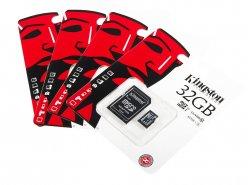 Kingston 32GB tarjeta