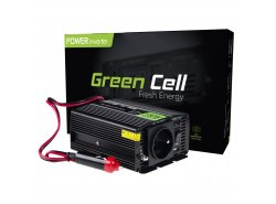 Green Cell ® Convertidor de voltaje 150W / 300W Inversor de 12V a 230V Inversor de corriente USB